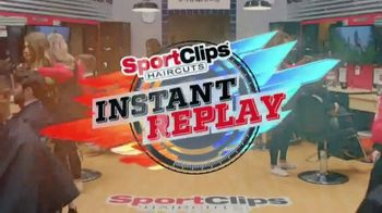 Sport Clips Instant Replay TV Spot, 'Thank You'