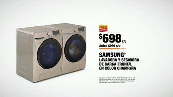 The Home Depot Red, White & Blue Savings TV Spot, 'Lavadora y secadora Samsung' [Spanish] - Thumbnail 8