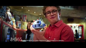 Disneyland TV Spot, 'Disney Channel: Star Wars: Galaxy's Edge' Feat. Miranda May and Sean Giambrone - Thumbnail 4