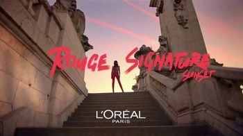L'Oreal Paris Rouge Signature Sunset TV Spot, 'Más colores' [Spanish] - 403 commercial airings