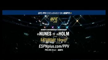 ESPN+ TV Spot, 'UFC 239: Nunes vs. Holm: Women's Bantamweight Championship' - Thumbnail 10