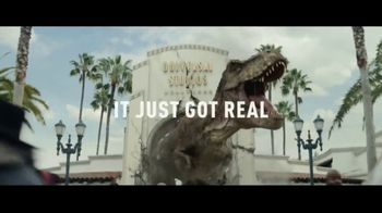 Universal Studios Hollywood TV Spot, 'Jurassic World: The Ride: Win a Trip'