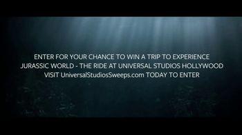 Universal Studios Hollywood TV Spot, 'Jurassic World: The Ride: Win a Trip' - Thumbnail 7