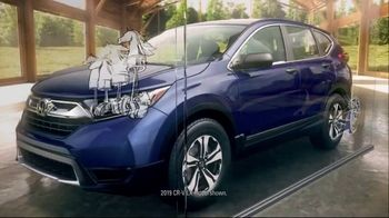 Honda 4th of July Sales Event TV Spot, '2019 CR-V: Ready for Adventure' [T2]