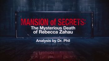 Analysis of Murder by Dr. Phil TV Spot, 'Mansion of Secrets: The Mysterious Death of Rebecca Zahau' - Thumbnail 4