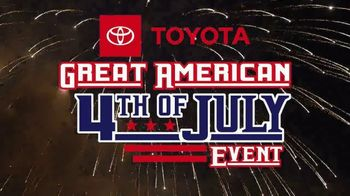 Toyota Great American 4th of July Event TV Spot, 'Celebrate the Savings: Highlander' [T2] - Thumbnail 3