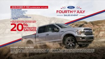 Ford Fourth of July Sales Event TV Spot, 'All American Party' [T2] - Thumbnail 6