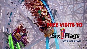Six Flags TV Spot, 'Bigger, Better, Wetter: Phoenix' - Thumbnail 6