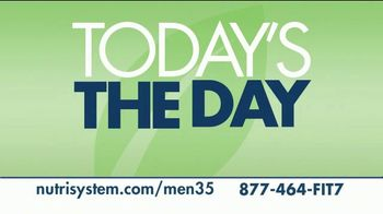 Nutrisystem for Men TV Spot, 'Today's the Day: 18 Pounds' - Thumbnail 2