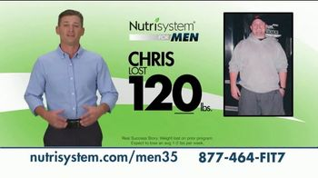 Nutrisystem for Men TV Spot, 'Today's the Day: 18 Pounds'