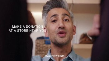 Men's Wearhouse Suit Drive TV Spot, 'Throwback and Donate' Featuring Tan France - Thumbnail 7