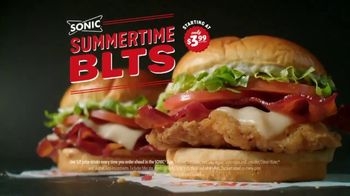 Sonic Drive-In Summer Time Chicken BLT TV Spot, 'Upside Down' - Thumbnail 4