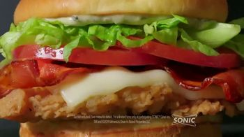 Sonic Drive-In Summer Time Chicken BLT TV Spot, 'Upside Down' - Thumbnail 2