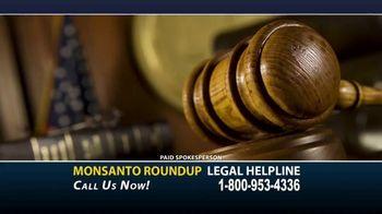 Dunken Law Group PLLC TV Spot, 'Monsanto Roundup and Non-Hodgkins Lymphoma' - Thumbnail 1