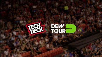 Tech Deck TV Spot, 'Dew Tour Partner' Featuring Torey Pudwill, T.J. Rogers - Thumbnail 1