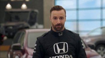 Honda Dream Garage Spring Event TV Spot, 'Big Deal' Feat. James Hinchcliffe [T2] - 592 commercial airings
