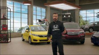 Honda Dream Garage Spring Event TV Spot, 'Big Deal' Feat. James Hinchcliffe [T2] - Thumbnail 5