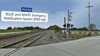 Operation Lifesaver, Inc. TV Spot, 'Look for the Blue and White ENS Sign' - Thumbnail 5