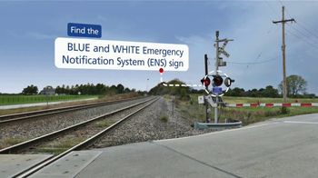 Operation Lifesaver, Inc. TV Spot, 'Look for the Blue and White ENS Sign' - Thumbnail 6