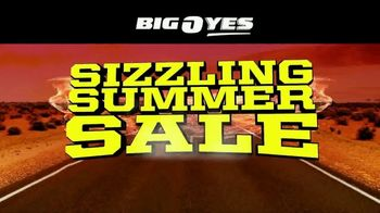 Big O Tires Sizzling Summer Sale TV Spot, 'Tires, Oil Changes, Alignments and Wiper Blades'