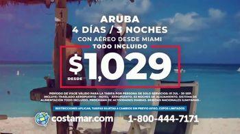 Costamar Travel TV Spot, 'Aruba, Colombia, Perú y Ecuador' [Spanish] - Thumbnail 2