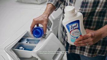 Lysol Laundry Sanitizer TV Spot, 'Love Them, Hate Their Laundry' - Thumbnail 8