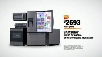 The Home Depot Red, White & Blue Savings TV Spot, 'Juego de cocina de Samsung' [Spanish] - Thumbnail 9