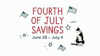 PetSmart Fourth of July Savings TV Spot, 'Buy One Get One'