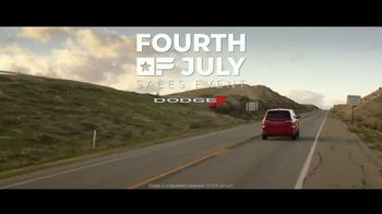 Dodge Fourth of July Sales Event TV Spot, 'Pedal to the Metal' [T1] - Thumbnail 8