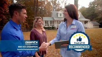 Champion Windows Best Sale of the Year TV Spot, '50 Percent Off' - Thumbnail 8