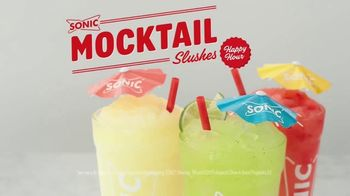 Sonic Drive-In Mocktail Slushes TV Spot, 'Any Side'