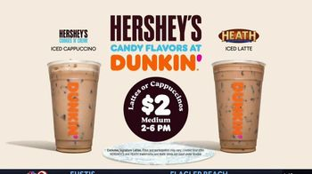 Dunkin' Donuts Hershey's Candy Flavors TV Spot, 'Unwrap a Sweet Escape' - Thumbnail 9