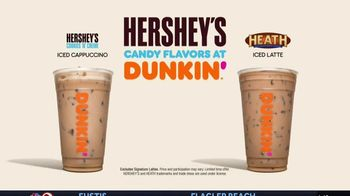 Dunkin' Donuts Hershey's Candy Flavors TV Spot, 'Unwrap a Sweet Escape' - Thumbnail 8
