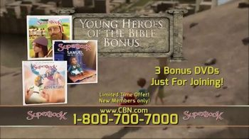 CBN Superbook TV Spot, 'Young Heroes of the Bible' - Thumbnail 7