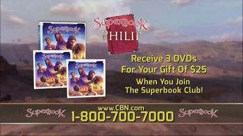 CBN Superbook TV Spot, 'Young Heroes of the Bible' - Thumbnail 4
