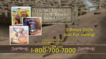 CBN Superbook TV Spot, 'Young Heroes of the Bible' - Thumbnail 5