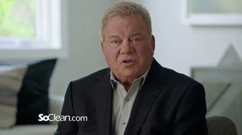 SoClean TV Spot, 'Healthy Sleep Every Night' Featuring William Shatner - Thumbnail 3