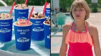 Dairy Queen Summer Blizzard Treat Menu TV Spot, 'Feat. Sour Patch Kids'