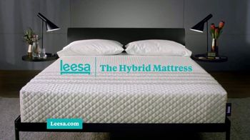 Leesa Hybrid 4th of July Sale TV Spot, 'Time to Switch Off: 15 Percent off and Free Pillows' - Thumbnail 4