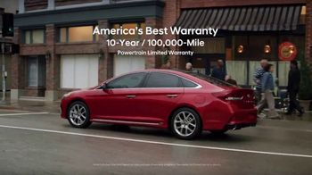 Hyundai Memorial Day Sales Event TV Spot, 'Sonata: Best Warranty' [T2]