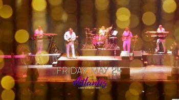Atlantis Casino Resort Spa TV Spot, '2019 The Commodores' - Thumbnail 5
