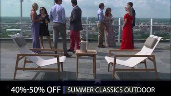 Summer Classics Memorial Day Sale TV Spot, 'Outdoor Furniture, Gabby Indoor and Accessories'