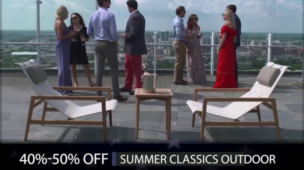 Summer Classics Memorial Day Sale Tv Commercial Outdoor Furniture
