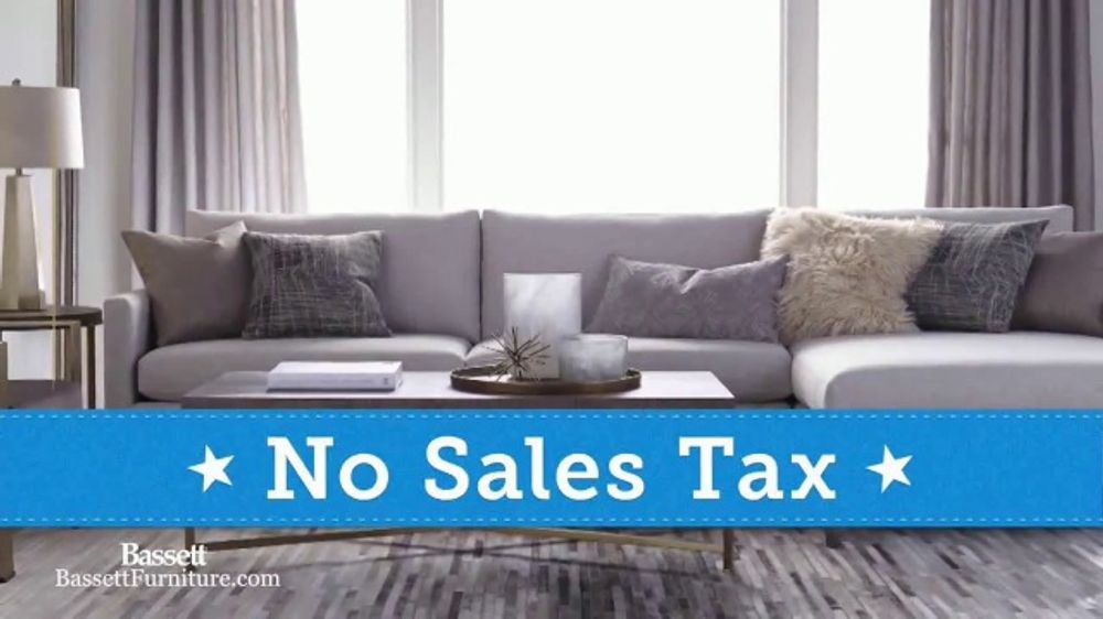 Bassett Biggest Memorial Day Sale Tv Commercial No Sales Tax