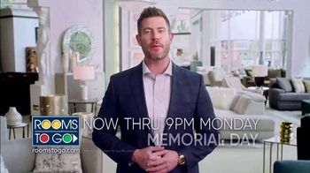 Rooms to Go Memorial Day Sale TV Spot, 'Coupons' Featuring Jesse Palmer - Thumbnail 10