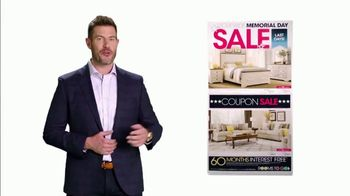 Rooms to Go Memorial Day Sale TV Spot, 'Coupons' Featuring Jesse Palmer - Thumbnail 3