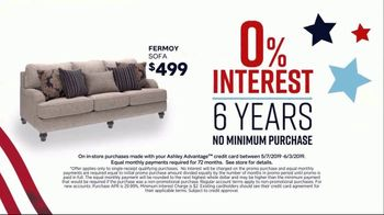 Ashley HomeStore Memorial Day Sale TV Spot, 'Summer's Hottest Deals: Dining Table and Sofa' Song by Midnight Riot - Thumbnail 4