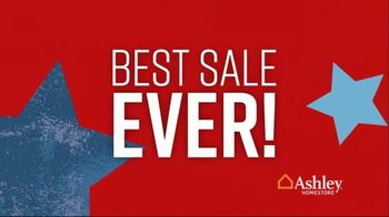 Ashley HomeStore Memorial Day Sale TV Spot, 'Summer's Hottest Deals: Dining Table and Sofa' Song by Midnight Riot - Thumbnail 5