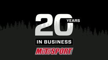 Motosport 20th Anniversary Sweepstakes TV Spot, 'Enter to Win' - Thumbnail 2