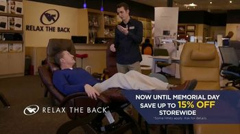 Relax the Back Memorial Day Event TV Spot, 'A Better Morning' - Thumbnail 5